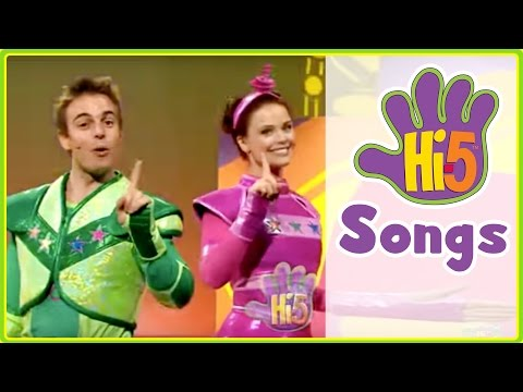 Hi-5 Songs | Robot Number One & More Kids Songs
