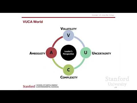 Stanford Webinar: How to Build a Sustainable Organization