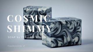 Cosmic Shimmy - In the Pot Swirl Soap - Fraeulein Winter