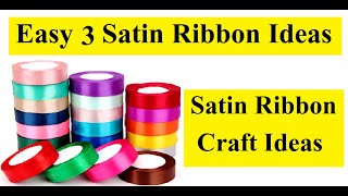 Diy Home Decor L Ribbon Decoration Ideas L Satin Ribbon Craft Ideas L Room Decor Ideas L Craft Ideas