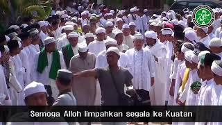 Sholawat untuk menyambut habib Rizieq.