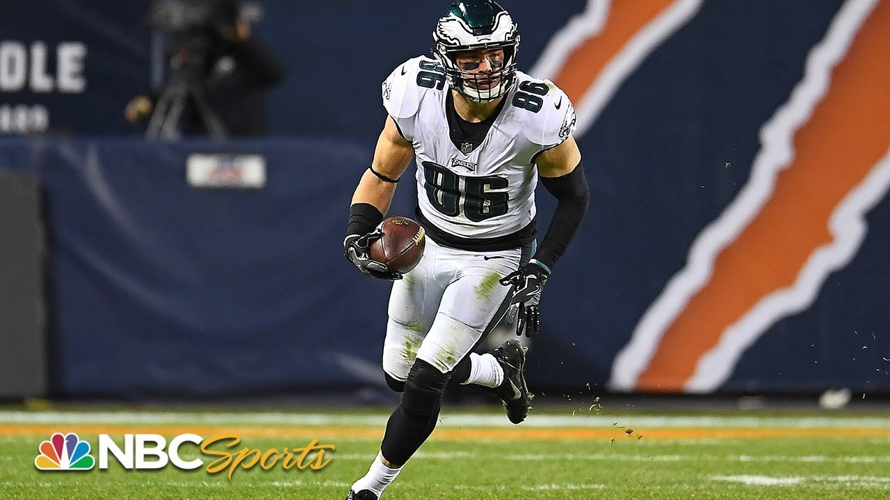 Eagles' Zach Ertz willing to sacrifice stats for wins in 2019 | NFL | NBC Sports