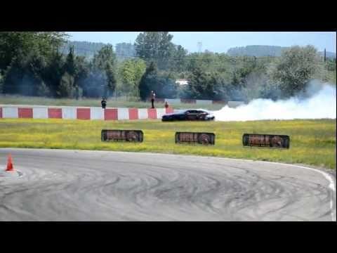 Hell Energy Dring Camaro SS drift at Greece