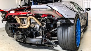 Download WHAT A $7,000 TITANIUM EXHAUST SOUNDS LIKE! * Supercharged Lamborghini * Mp3 and Videos