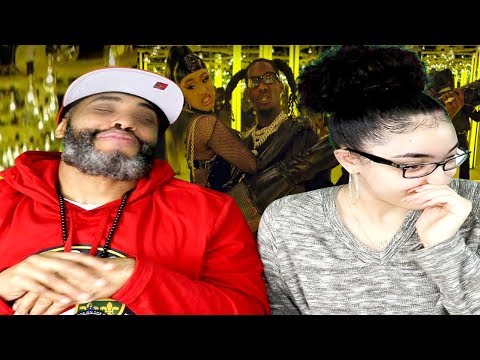 MY DAD REACTS TO Offset - Clout Ft. Cardi B REACTION