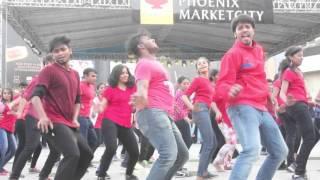 Utsav 2016  Flashmob and Freezemob