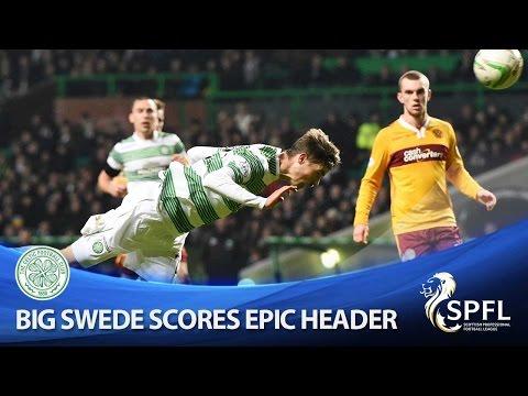 Better than Larsson! Lustig scores amazing goal!