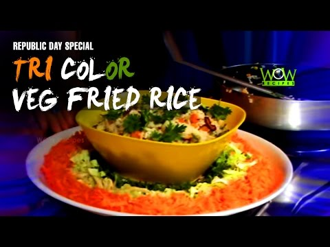 How To Make Vegetable Fried Rice - Fried Rice Recipe