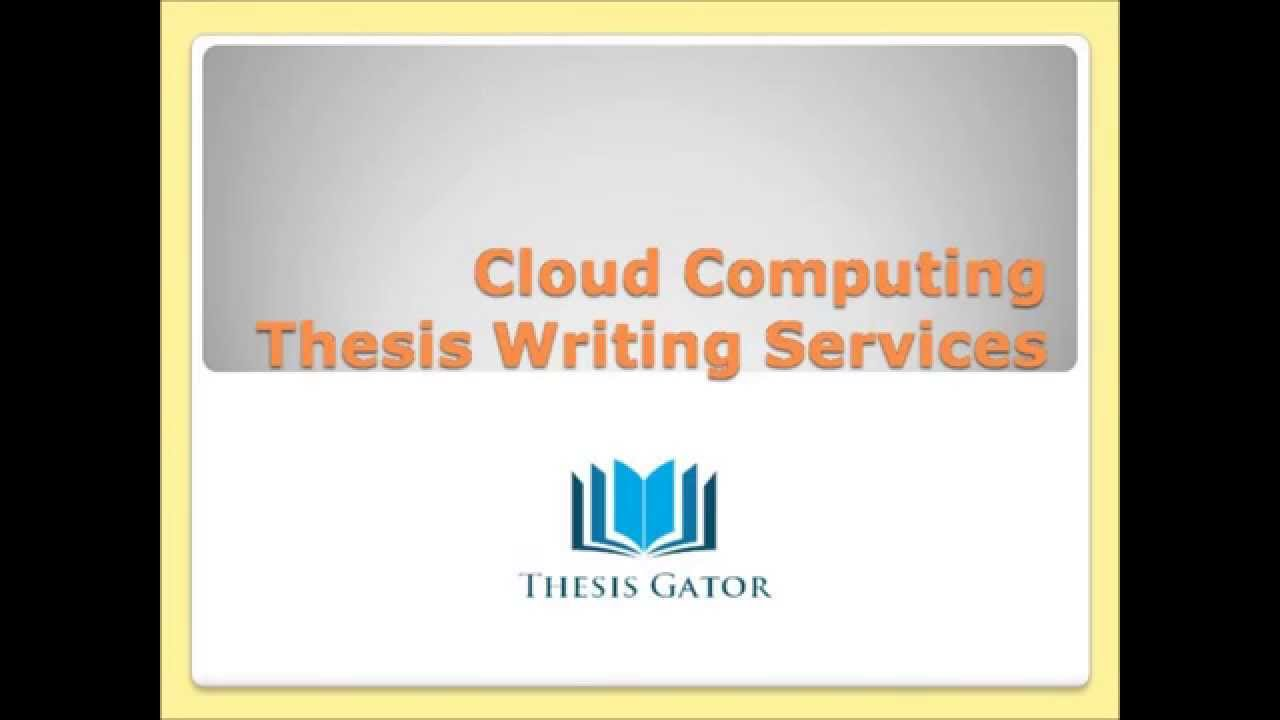 Cloud Computing Essays (Examples)