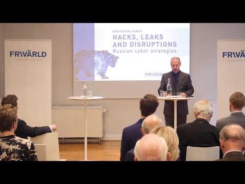 Publication launch: Russian cyber strategies