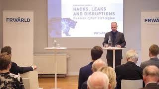 Publication launch: Russian cyber strategies