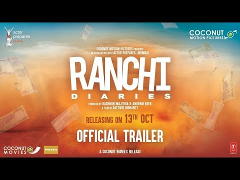 Thumbnail: Official Trailer: Ranchi Diaries | Soundarya Sharma | Himansh | Anupam Kher | Jimmy Shergill