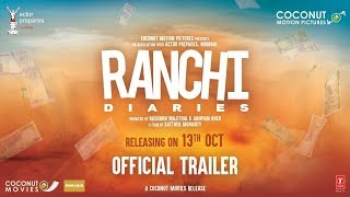 Official Trailer: Ranchi Diaries | Soundarya Sharma | Himansh | Anupam Kher | Jimmy Shergill thumbnail