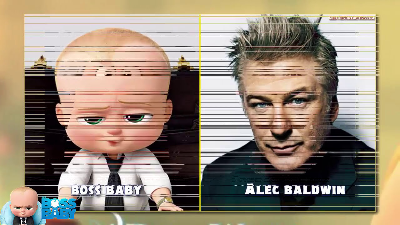 'The Boss Baby' Cast - Meet The Voices  Meetthevoiceactors 01:33 HD