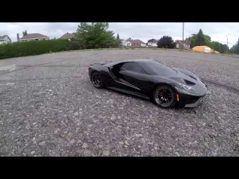 traxxas ford gt 4 tec 2 0 stock setup running video youtube. Black Bedroom Furniture Sets. Home Design Ideas