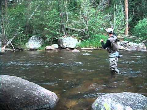 Fly fishing the frying pan river youtube for Best trout fishing in colorado