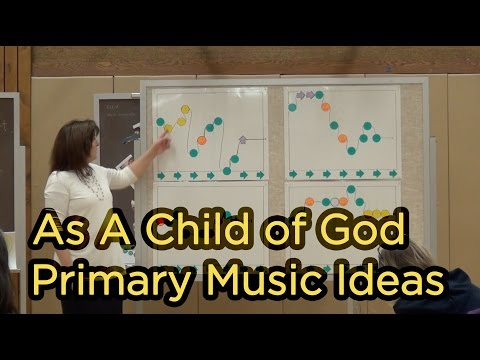 As a Child of God - Melody Map - Primary Music...