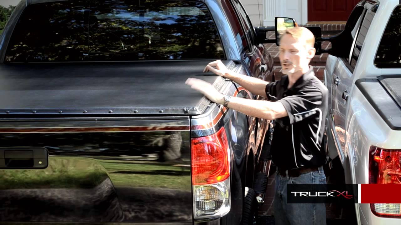 Roll Up Tonneau Cover Vs Snap Tonneau Cover Autocustoms Com Youtube