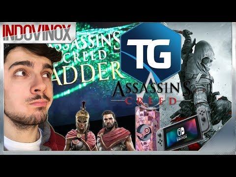 ASSASSIN'S CREED ADDER È UNA BUFALA !?🙄 AC3 REMASTERED SU SWITCH & NG+! | TG ASSASSIN'S CREED #3 thumbnail
