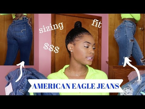 American Eagle Jeans Mini Try-on Haul + Everything You Should Know
