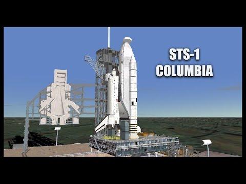 STS-1 Columbia -  Orbiter Space Flight Simulator 2010