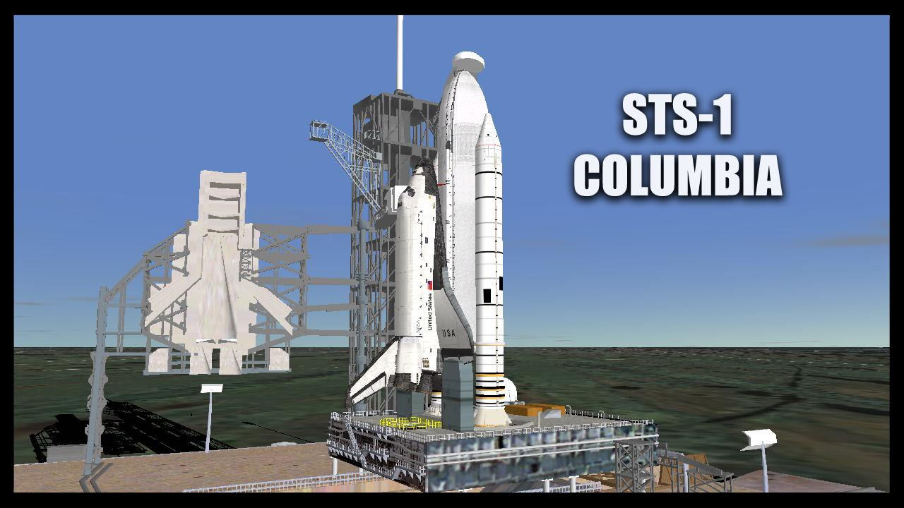 STS1 Columbia Orbiter Space Flight Simulator 2010 YouTube