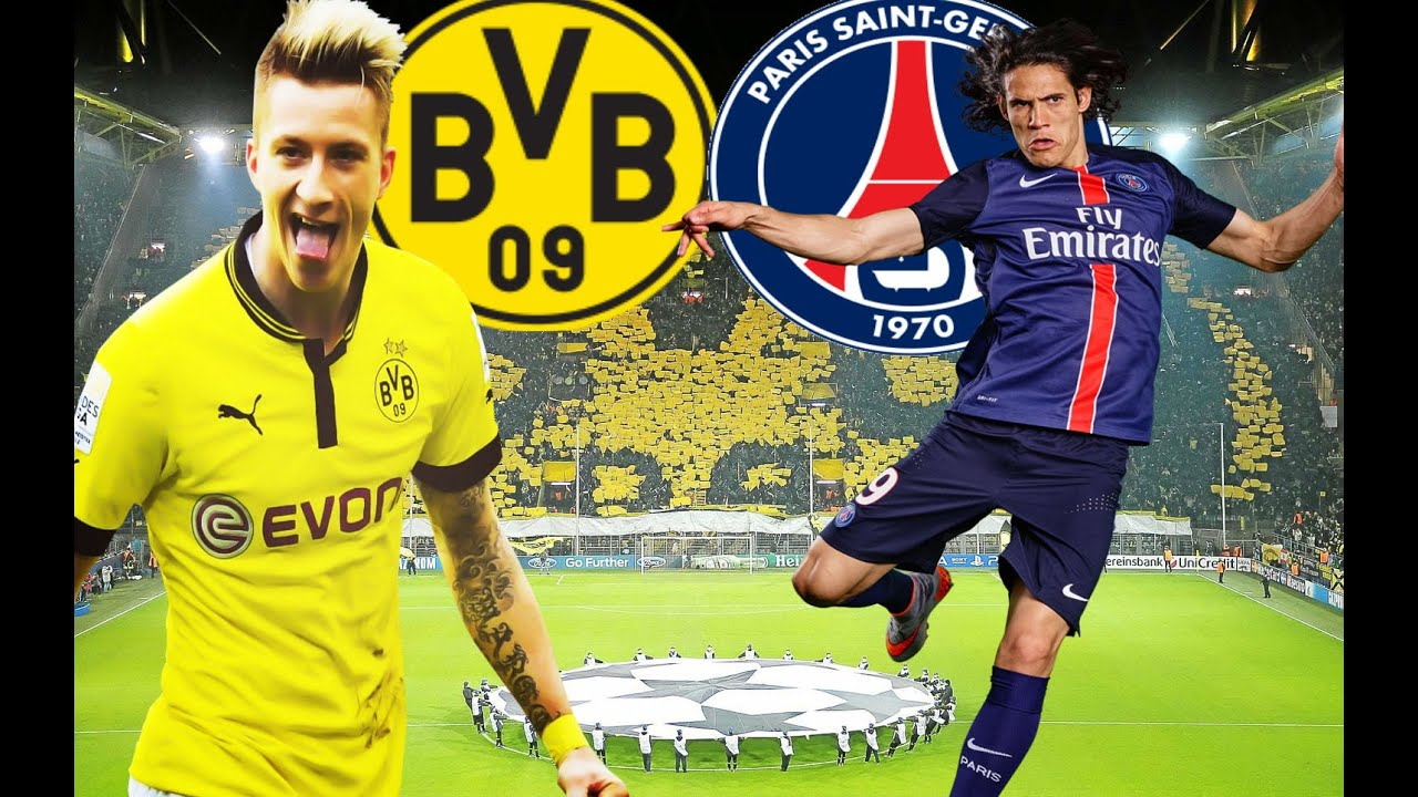 Pretemporada Borussia Dortmund Vs Psg Fifa 16 Youtube