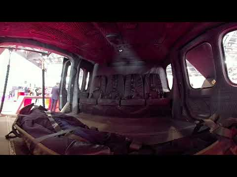 360 degree interior view of the AW149 Helicopter cabin