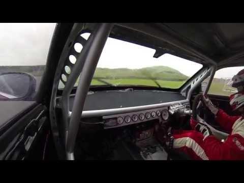 British Drift Driver David Waterworth On Track In His Chrysler 300c