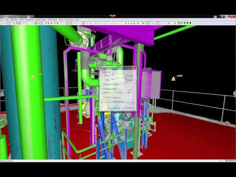 Leica Cyclone 9.0 - TruView for General Plant Arrangment