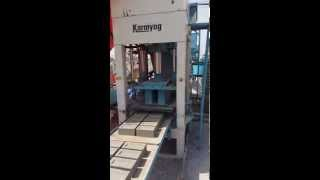 Fly ash bricks making machine | Karmyog Hi-Tech Machineries