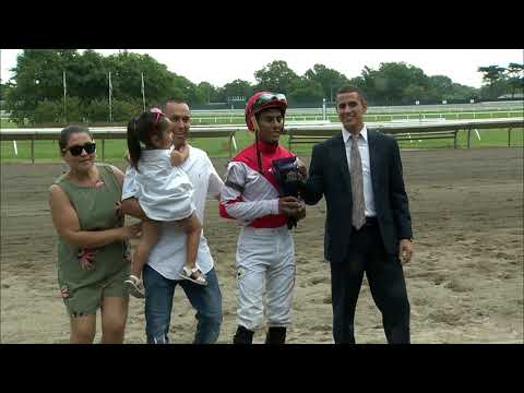 video thumbnail for MONMOUTH PARK 6-29-19 RACE 10 -THE FRIENDLY LOVER HANDICAP