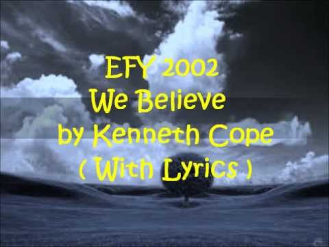 LDS Youth Mutual Theme 2011 : We Believe - Lyric | Doovi