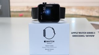 apple watch series 2 unboxing review the best smart watch out there