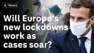 Lockdowns come into force across Europe as Covid-19 deaths soar