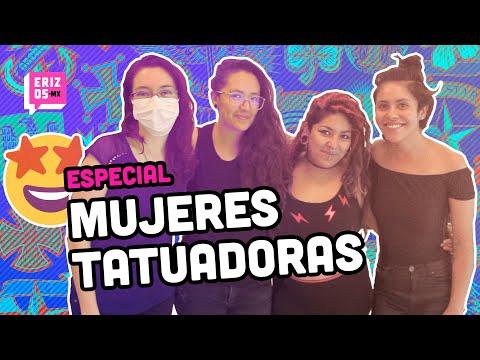 Primer estudio de mujeres tatuadoras en CDMX | ErizosMX