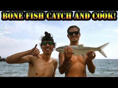 First Oio (Bone Fish) Catch And Cook! Realistic Fishing Hawaii Tackle Exchange