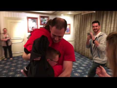 Air Force Dad & Disneyland Surprise