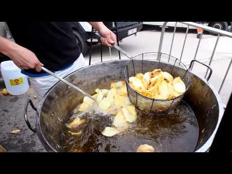 картошка чипсы готовится