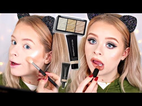 MORE REVOLUTION PRO!! FULL COVERAGE FOUNDATION/CONCEALER, BROW, HIGHLIGHTER ETC | sophdoesnails
