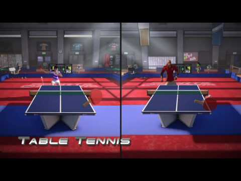 Sports Champions | official E3 trailer Sony PlayStation Move PS3