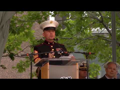 Marine Week opening ceremony - Detroit