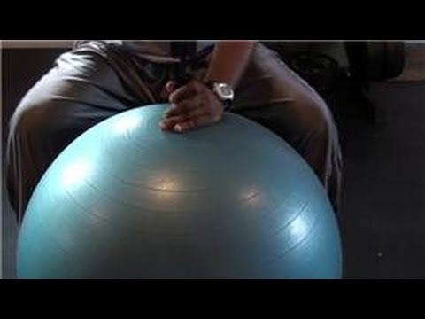Tips From A Personal Trainer : How to Inflate a Core Stability Exercise Ball