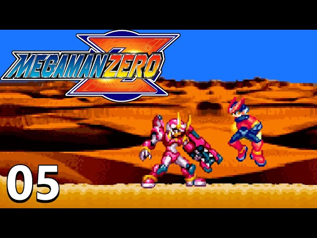 Taking On Fafnir One Of The 4 Guardians - Mega Man Zero Part 5