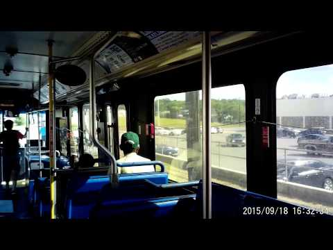VIA bus route 5O2 in San Antonio, Texas on Friday September 18, 2015