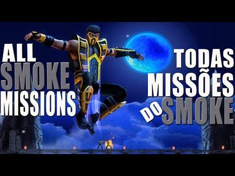 Mortal Kombat Shaolin Monks - TODAS MISSÕES DO SMOKE (All Smoke Missions) (PS2)【TAS】 thumbnail