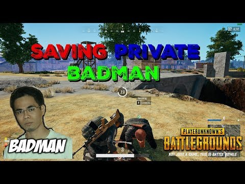 PUBG-SAVING PRIVATE BADMAN /FUNNY MOMENTS ft DOGIE FLICTG AND EXILE GIEE