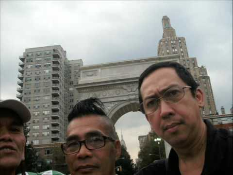 People who Supported the Davao Artist Bong Espinosa in New York