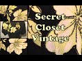 Get the Look: Secret Closet Vintage--Greer Garson Style Dress!