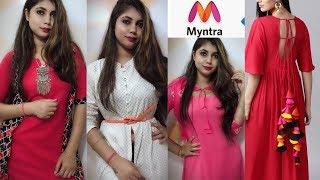 Myntra Fastival Shopping//Online dress shopping for Durga puja//Suhanigupta